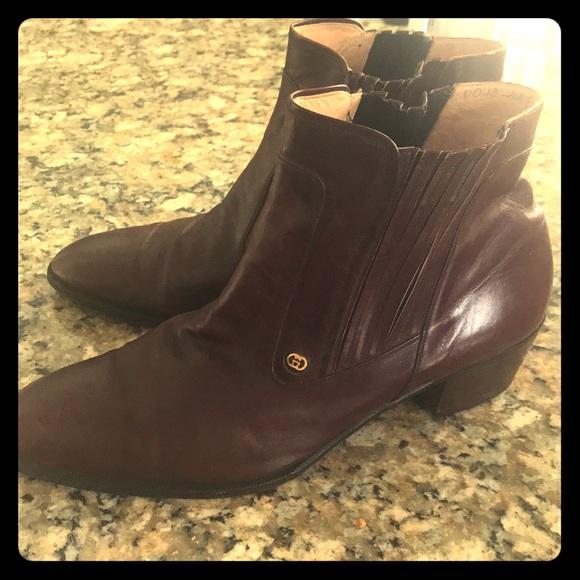 0a931901a10 Men s Vintage Gucci Ankle Boots